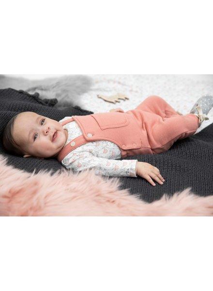 Feetje Girls longsleeve AOP Oh la Lama Color: offwhite
