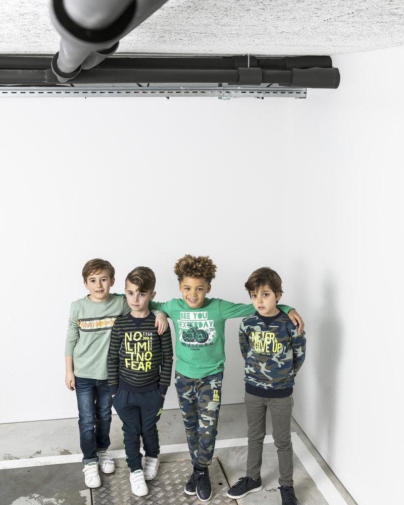 Tygo & Vito Boys Skinny Jeans extra soft & stretchy Color: d.army