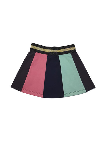 Waaaw Skirt colours grey-blue-old pink