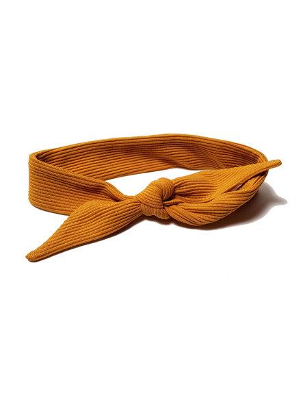 Waaaw Headband Yellow rib