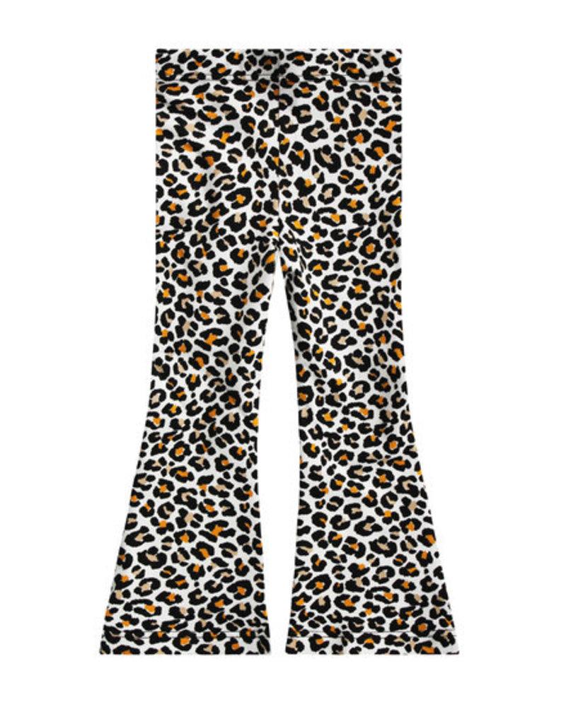 Your Wishes Leopard mango flared legging