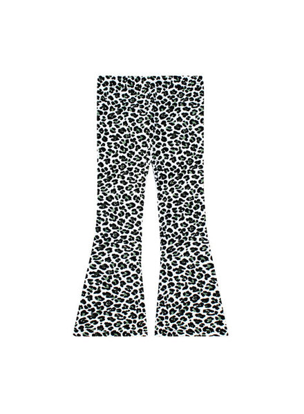 Your Wishes Leopard camo flared legging