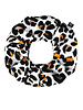 Your Wishes Leopard mango scrunchie