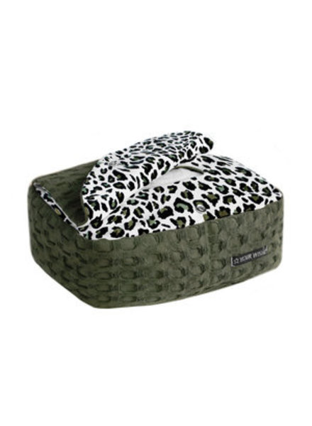 Your Wishes Camo leopard commode mandje