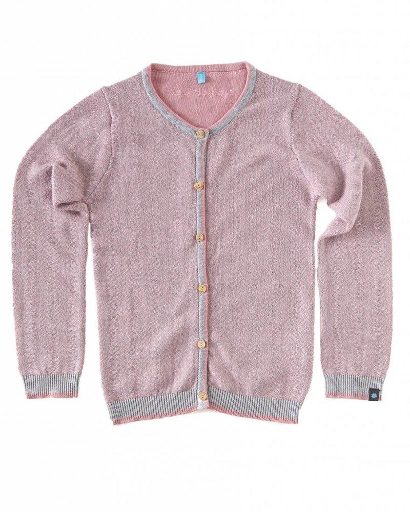 Vest roze zigzag