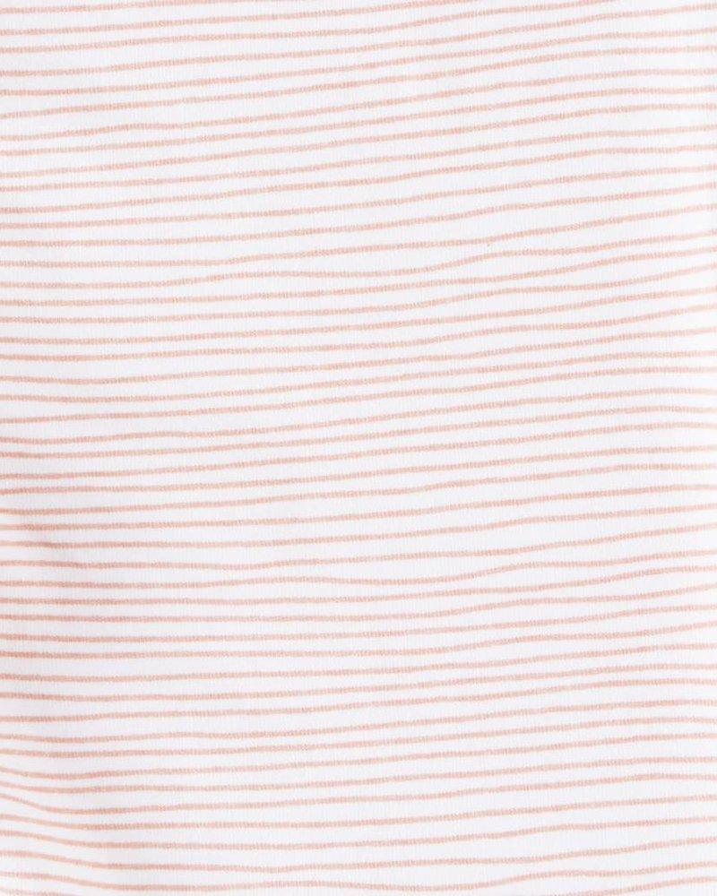 Legging light pink stripes