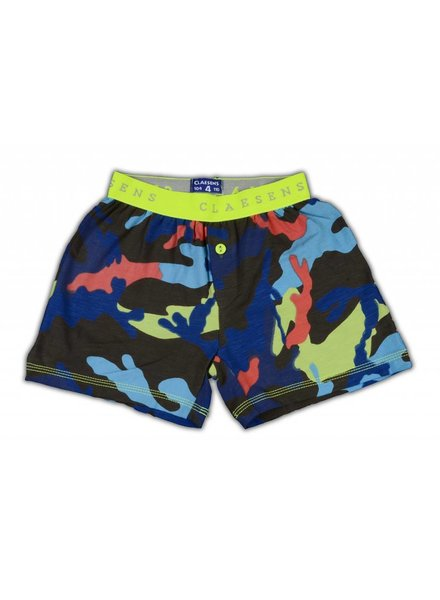 Claesens kinderkleding Boys 1-pack shorts army