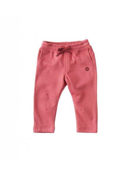Sweatpants chino style uni pink