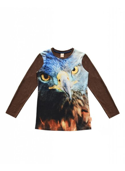 Shirt Army blue eagle maat 104