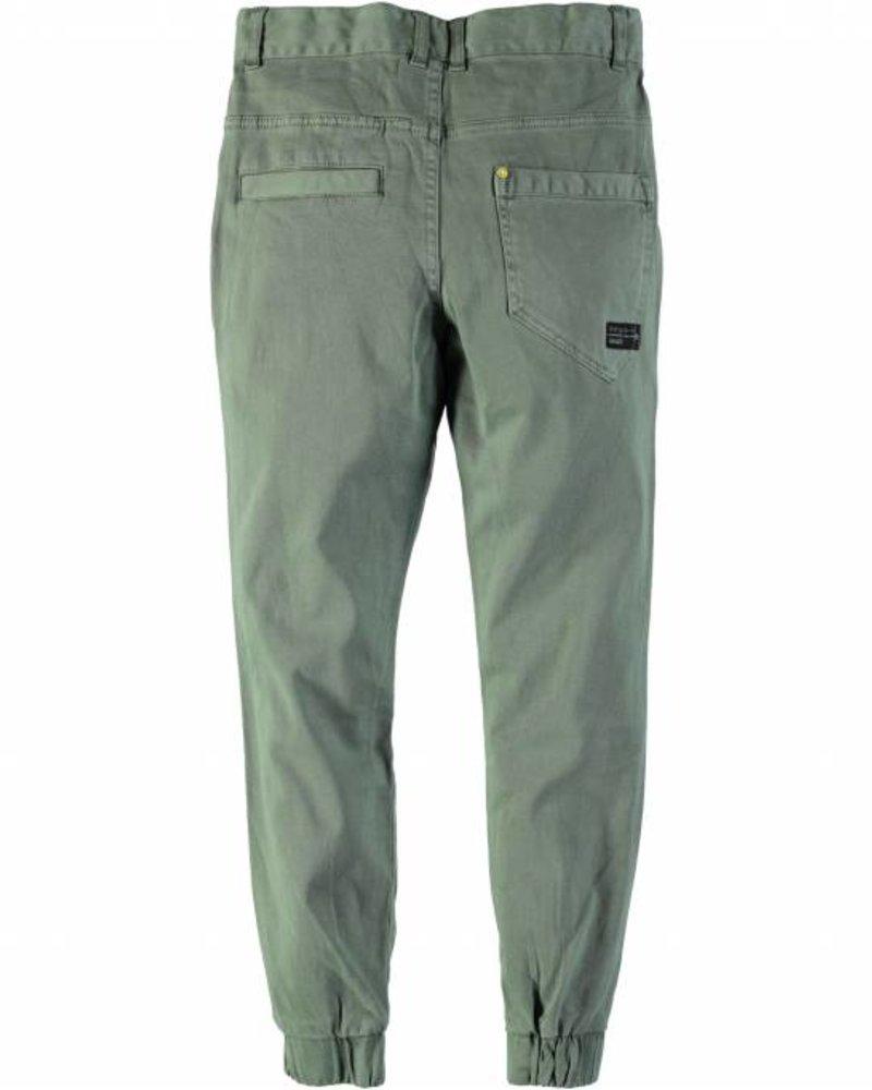 Chino pants olive grey maat 122/128