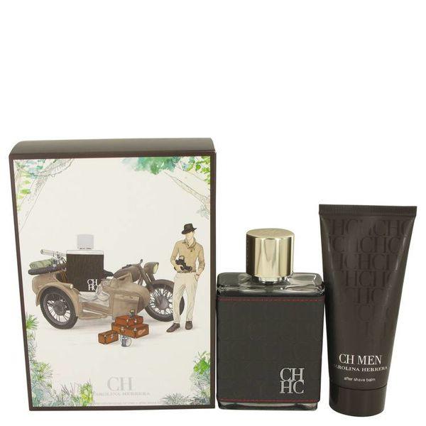 Carolina Herrera Gift Set - 100 ml Eau De Toilette Spray + 100 ml After Shave Balm