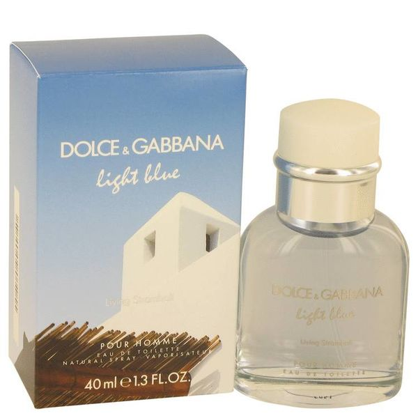 Dolce & Gabbana Light Blue Living Stromboli Pour Homme Eau de Toilette 40 ml