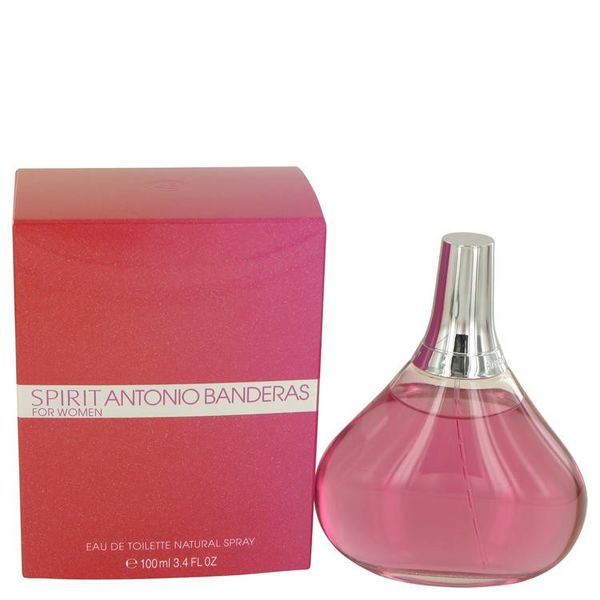 Antonio Banderas Spirit for Woman Eau de Toilette voor Vrouwen 100 ml
