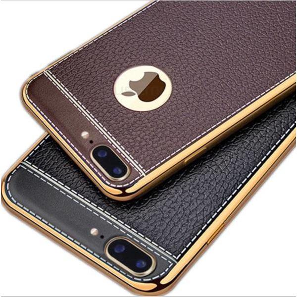 Iphone 6 Plus telefoonhoesje LUXE Bruin