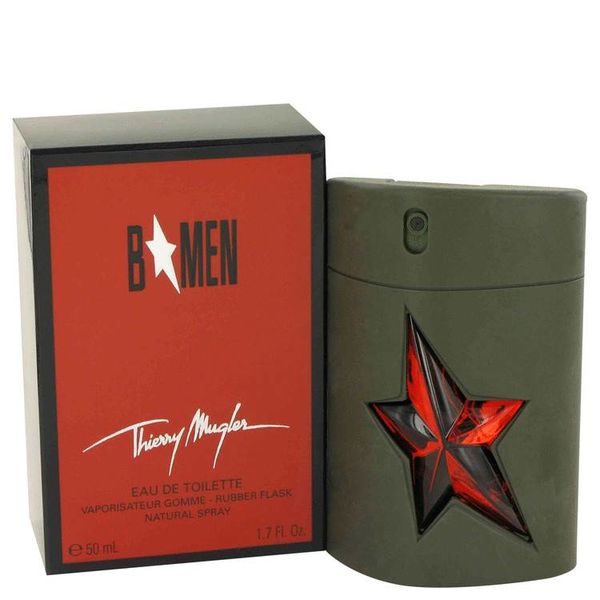 Thierry Mugler B Men Eau De Toilette Spray Rubber Flask 50 ml