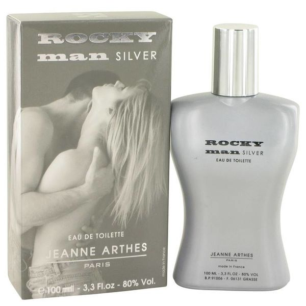 Jeanne Arthes Rocky Man Silver edt 100 ml
