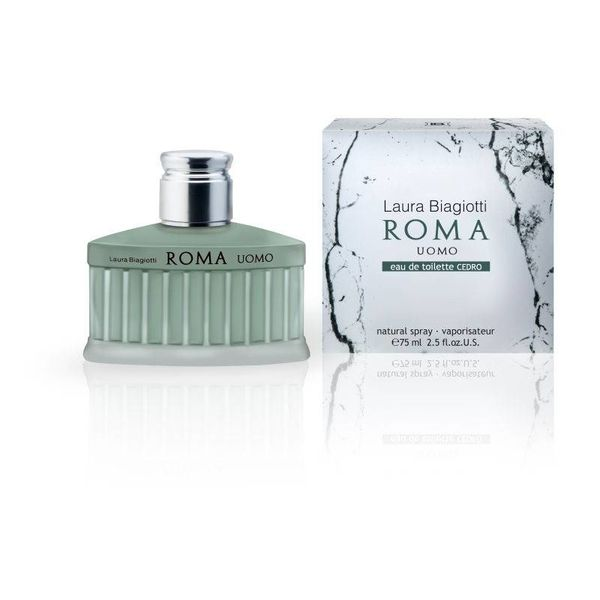 Laura Biagiotti Roma Uomo Cedro Edt Spray 75 ml