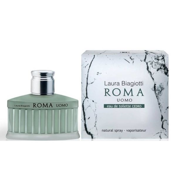 Laura Biagiotti Roma Uomo Cedro Edt Spray 40 ml