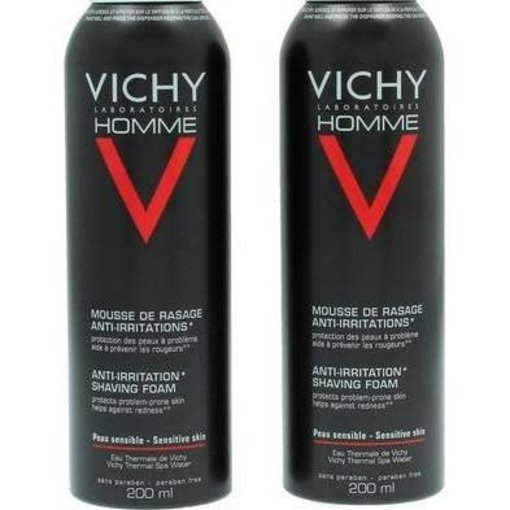 VICHY Vichy Deodorant Homme Sensi Shave Anti-Irrit. Shaving Foam - 400 ml -