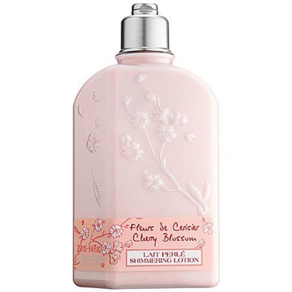 L'Occitane Cherry Blossom Shimmering Lotion