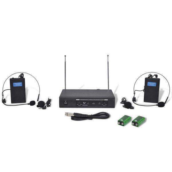2 koptelefoons VHF met ontvanger