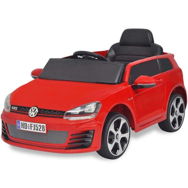 elektrische auto VW Golf GTI 7 rood 12 V met afstandsbediening