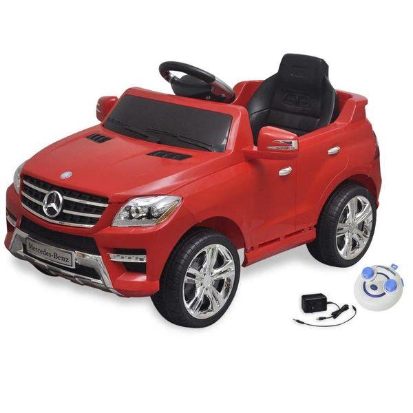 Elektrische auto Mercedes Benz ML350 rood 6 V met afstandsbediening