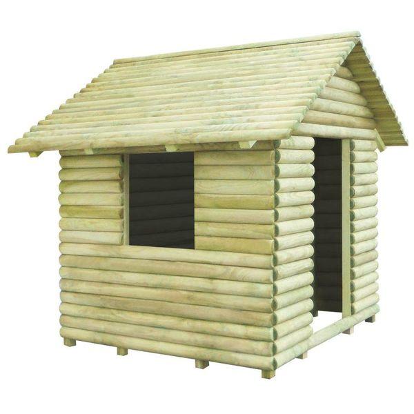 Speelhuis geïmpregneerd grenenhout 167x150x151 cm