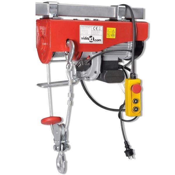 Elektrische lier 1300 W 500/999 kg