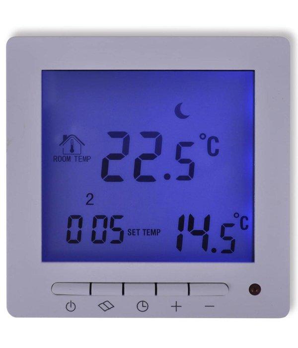 Voordeeltrends Progammeerbare Digitale thermostaat voor vloerverwarming met sensor