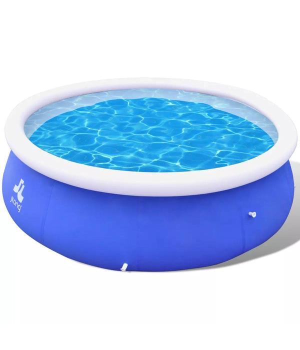 Voordeeltrends Opblaasbaar zwembad Blauw 300 x 76 cm