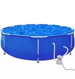 Voordeeltrends Rond zwembad 360 x 76 cm met filterpomp 1165 l / h