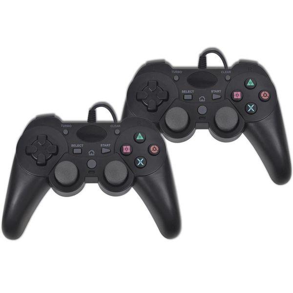 Gamecontrollers voor PS3 met draad 2 st