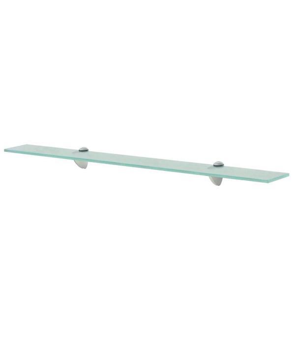 Wandplank Zwevend 80 Cm.Vidaxl Zwevend Schap 80x10 Cm 8 Mm Glas Voordeeltrends