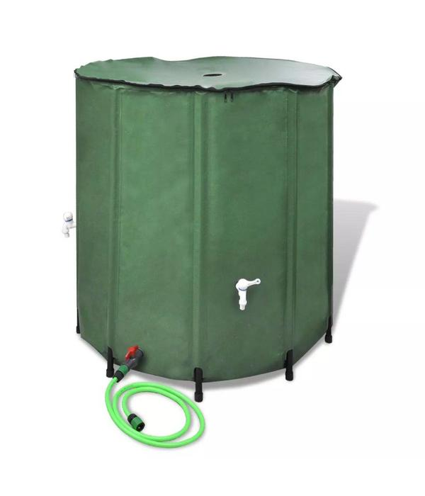 vidaXL Inklapbare Watertank 250L (Groen)