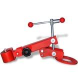 vidaXL Spatbord roller rood