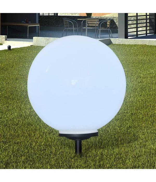 vidaXL Buitenverlichting op zonne-energie (balvormig) LED 50 cm (1 st)