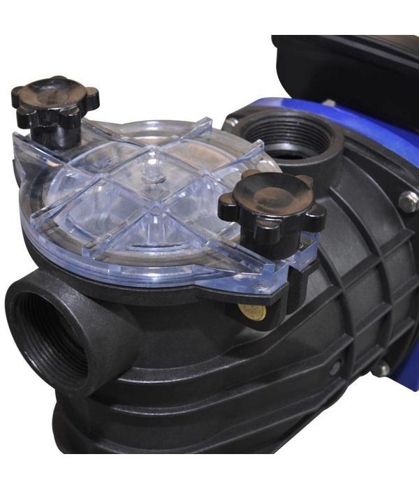 vidaXL Elektrische zwembadpomp 600W blauw