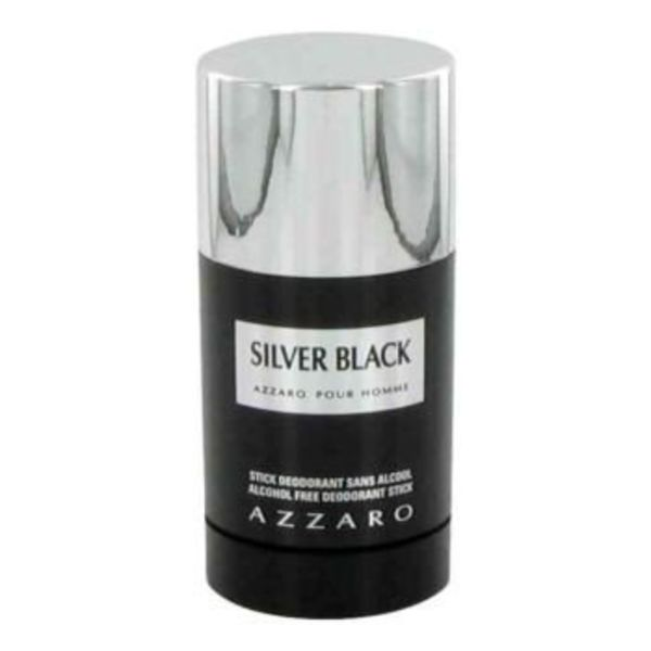 Azzaro Silver Black Men Deodorant Stick 75 ml