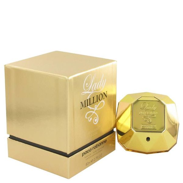 Paco Rabanne Lady Million Absolutely Gold EDP spray 80 ml