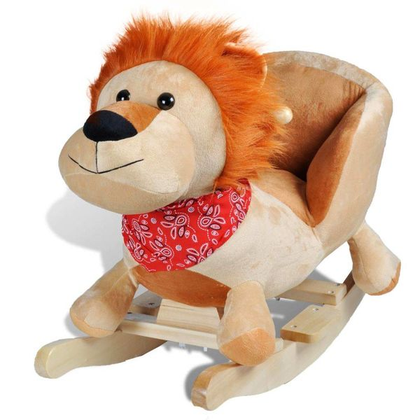 Hobbeldier leeuw