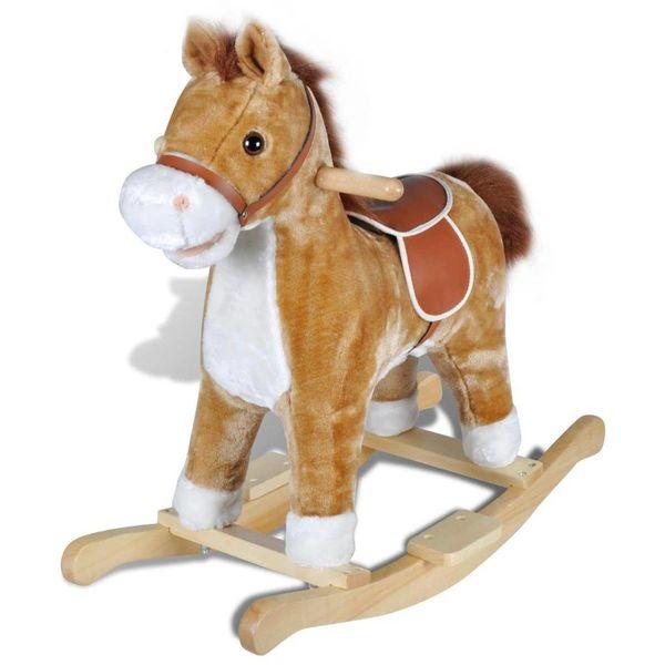 Hobbeldier paard
