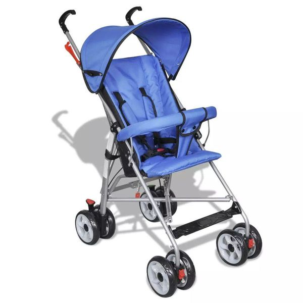 Moderne buggy blauw