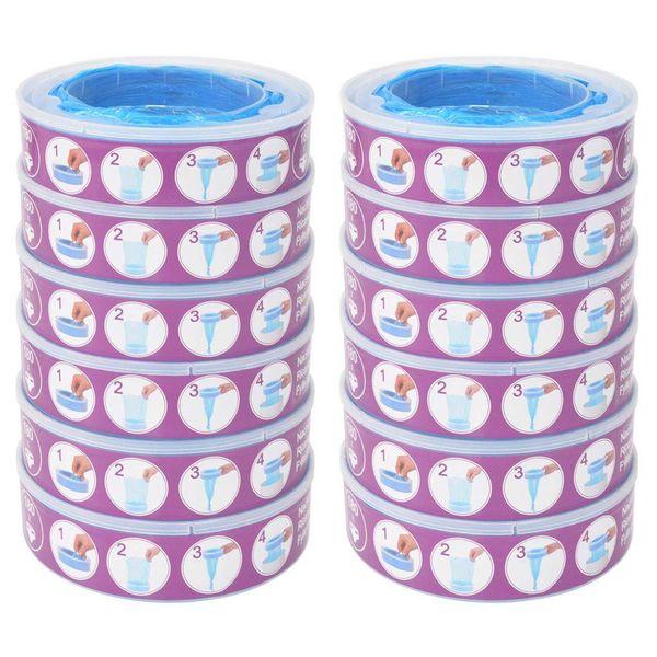 Navulcassette voor Angelcare Diaper Genie 12 st