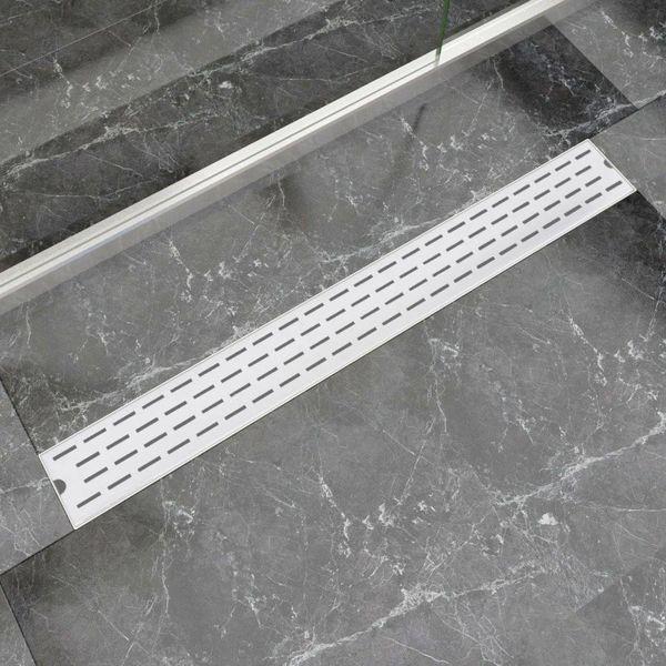 Doucheafvoer rechthoekig 930 x 140 mm roestvrij staal