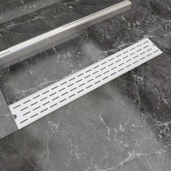Doucheafvoer rechthoekig 730x140 mm roestvrij staal