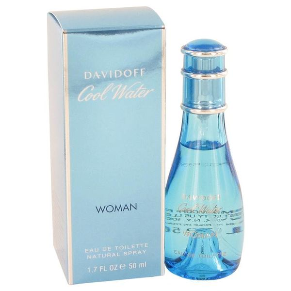 Davidoff Cool Water Woman eau de toilette spray 50 ml