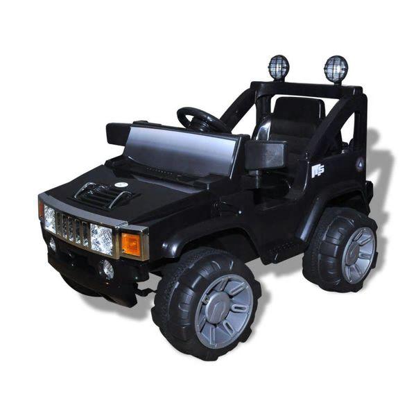 Elektrische speelgoedauto voor kinderen (zwart)