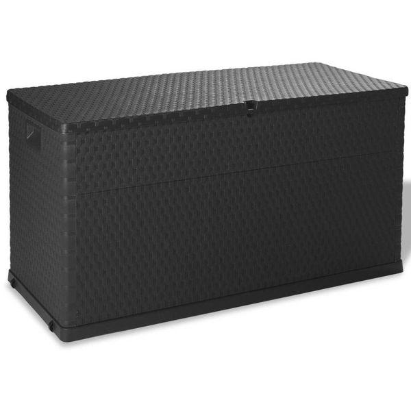 Opbergbox voor in de tuin 420 L antraciet