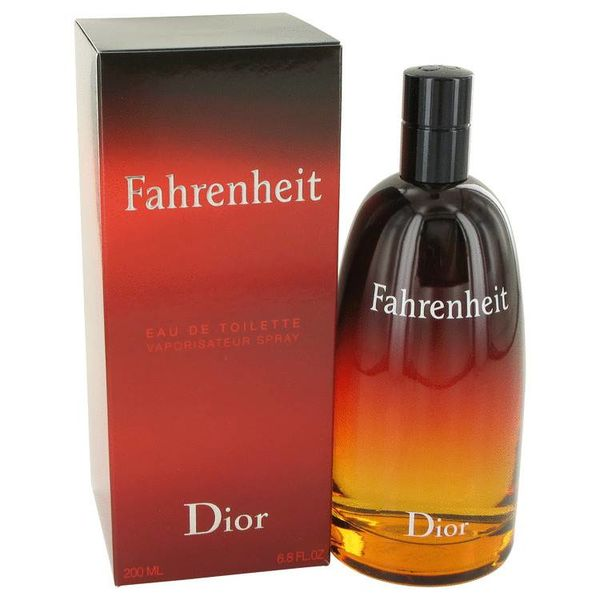 Fahrenheit Men eau de toilette spray 200 ml